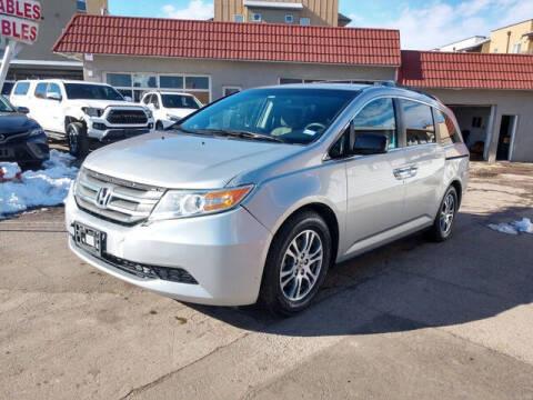 2012 Honda Odyssey for sale at ELITE MOTOR CARS OF MIAMI in Miami FL
