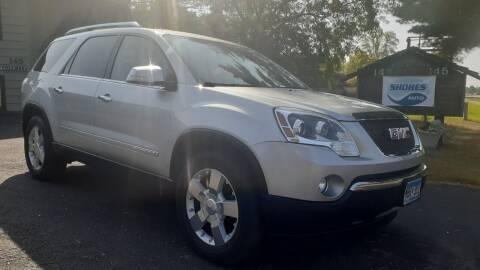 2007 GMC Acadia for sale at Shores Auto in Lakeland Shores MN