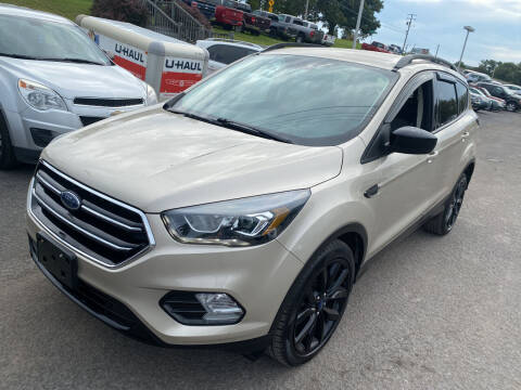 2017 Ford Escape for sale at Ball Pre-owned Auto in Terra Alta WV