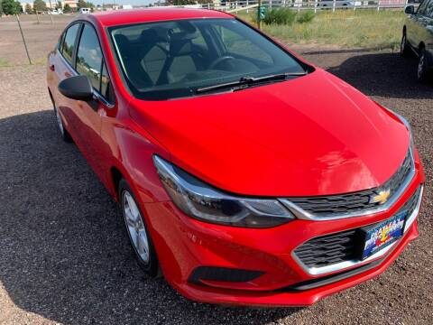 2016 Chevrolet Cruze for sale at Praylea's Auto Sales in Peyton CO