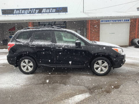 2015 Subaru Forester for sale at Integrity Auto LLC in Sheldon VT