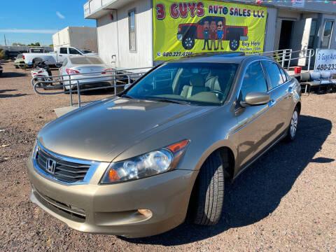 2009 Honda Accord for sale at 3 Guys Auto Sales LLC in Phoenix AZ