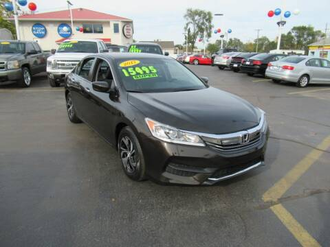 2017 Honda Accord for sale at Auto Land Inc in Crest Hill IL