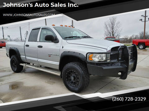 2004 Dodge Ram Pickup 3500 for sale at Johnson's Auto Sales Inc. in Decatur IN