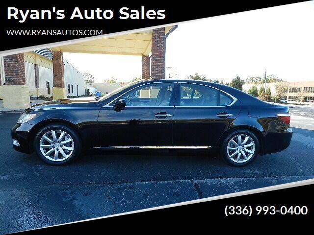 2008 Lexus LS 460 for sale at Ryan's Auto Sales in Kernersville NC