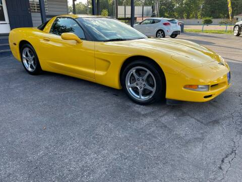 2002 Chevrolet Corvette for sale at QUALITY PREOWNED AUTO in Houston TX