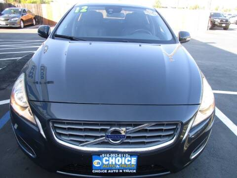2012 Volvo S60 for sale at Choice Auto & Truck in Sacramento CA