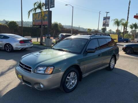 2000 Subaru Outback for sale at Mac Auto Inc in La Habra CA