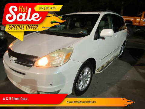 2004 Toyota Sienna for sale at A & R Used Cars in Clayton NJ