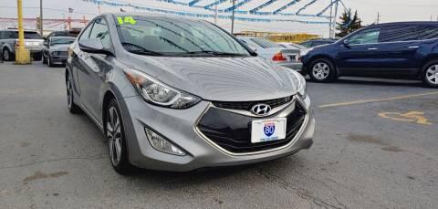 2014 Hyundai Elantra Coupe for sale at I-80 Auto Sales in Hazel Crest IL