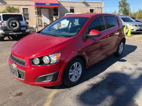 2012 Chevrolet Sonic for sale at Saipan Auto Sales in Houston TX