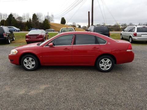 2007 Chevrolet Impala for sale at CAR-MART AUTO SALES in Maryville TN