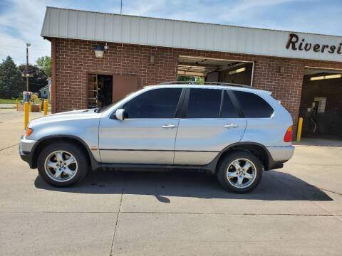 2003 BMW X5 for sale at RIVERSIDE AUTO SALES in Sioux City IA