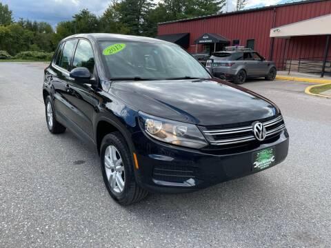2013 Volkswagen Tiguan for sale at Vermont Auto Service in South Burlington VT