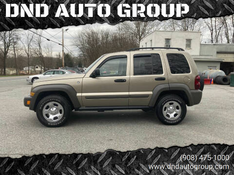 2006 Jeep Liberty for sale at DND AUTO GROUP in Belvidere NJ