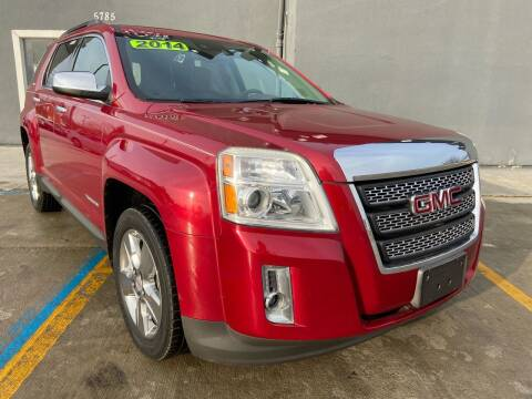 2014 GMC Terrain for sale at NUMBER 1 CAR COMPANY in Detroit MI