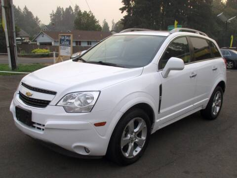 2014 Chevrolet Captiva Sport for sale at Yellow Line Motors in Lafayette OR