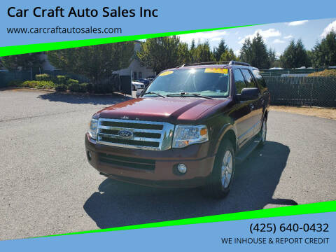 2010 Ford Expedition for sale at Car Craft Auto Sales Inc in Lynnwood WA