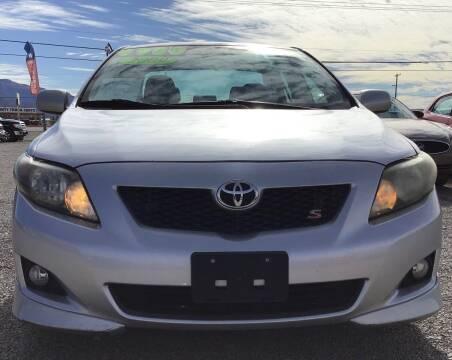 2009 Toyota Corolla for sale at The Auto Shop in Alamogordo NM