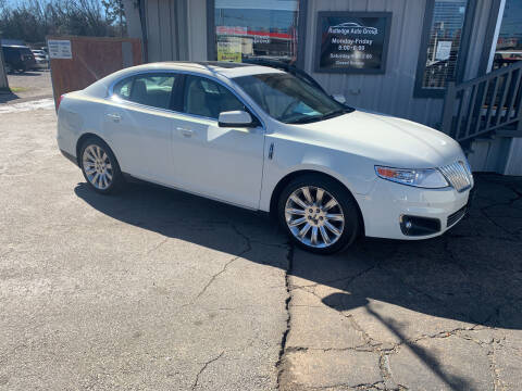 2012 Lincoln MKS for sale at Rutledge Auto Group in Palestine TX