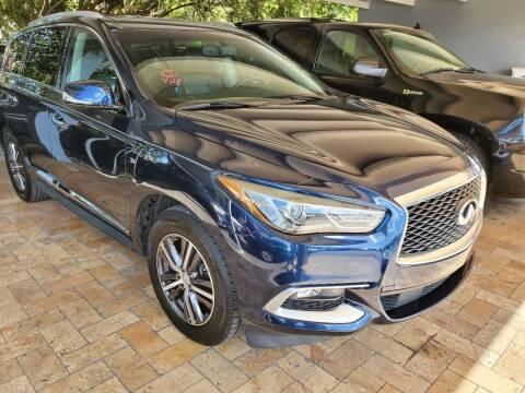 2016 Infiniti QX60 for sale at America Auto Wholesale Inc in Miami FL
