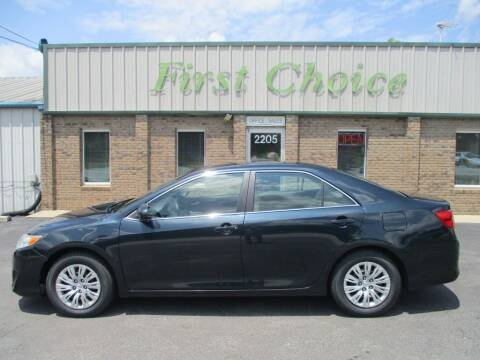 2014 Toyota Camry for sale at First Choice Auto in Greenville SC