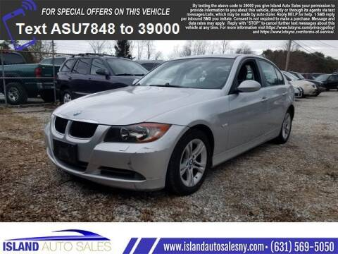 2008 BMW 3 Series for sale at Island Auto Sales in East Patchogue NY