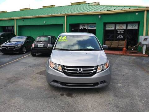 2016 Honda Odyssey for sale at A To Z Auto Sales in Apopka FL
