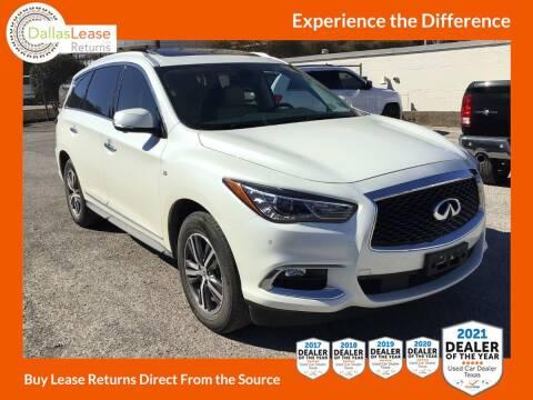 2018 Infiniti QX60 for sale at Dallas Auto Finance in Dallas TX