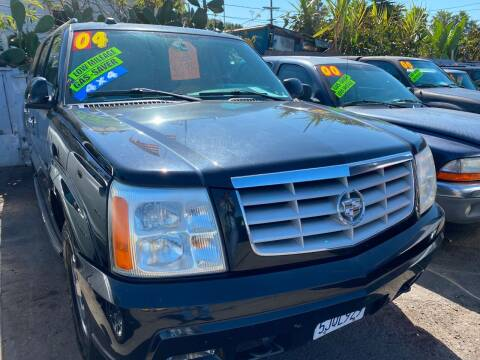 2004 Cadillac Escalade ESV for sale at North County Auto in Oceanside CA