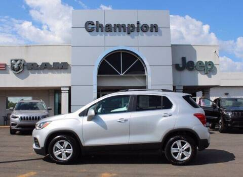 2019 Chevrolet Trax for sale at Champion Chevrolet in Athens AL