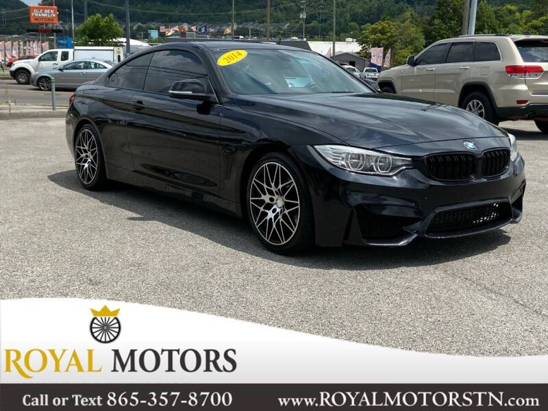 2014 BMW 4 Series for sale at ROYAL MOTORS LLC in Knoxville TN