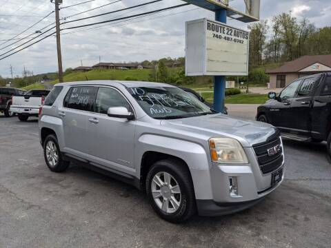 2010 GMC Terrain for sale at Route 22 Autos in Zanesville OH