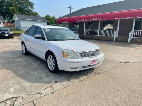 2006 Ford Five Hundred for sale at Taylor Auto Sales Inc in Lyman SC