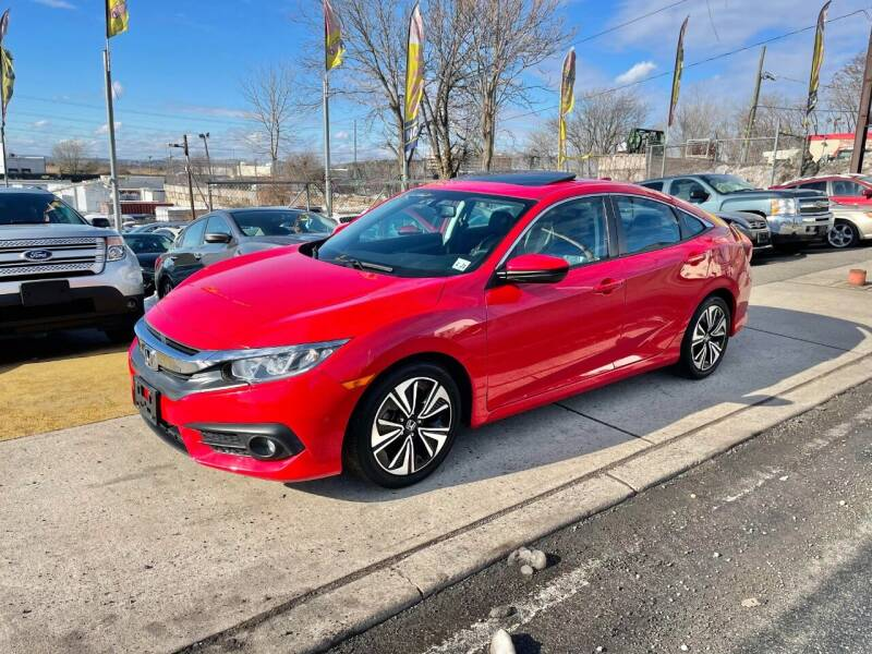 2016 Honda Civic for sale at JR Used Auto Sales in North Bergen NJ
