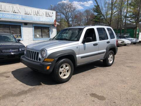 2006 Jeep Liberty for sale at Lucien Sullivan Motors INC in Whitman MA