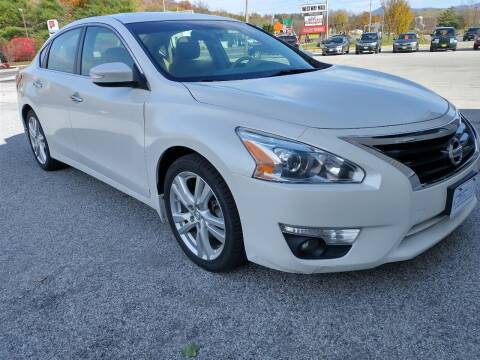 2013 Nissan Altima for sale at BAILEY MOTORS INC in West Rutland VT