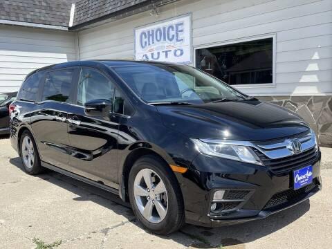 2018 Honda Odyssey for sale at Choice Auto in Carroll IA