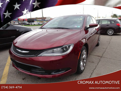 2015 Chrysler 200 for sale at Cromax Automotive in Ann Arbor MI