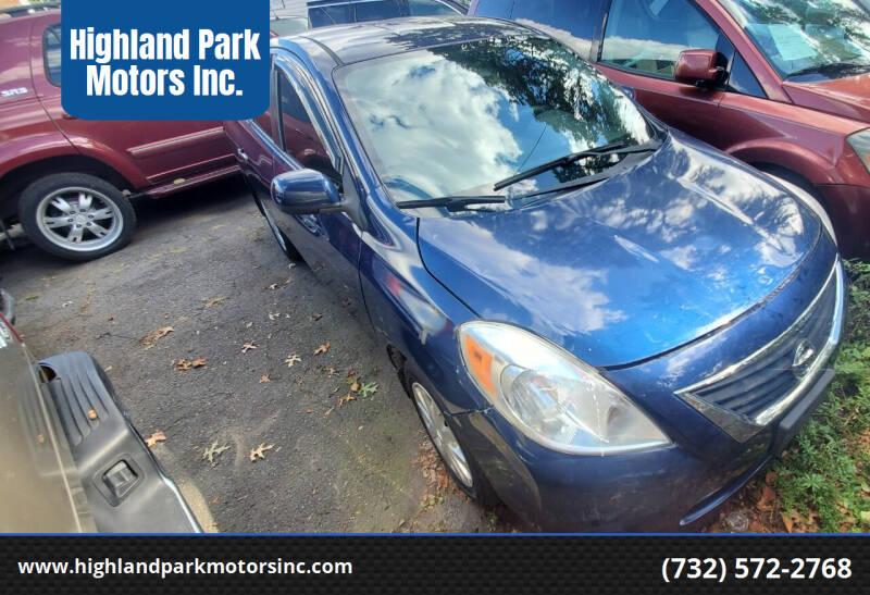 2012 Nissan Versa for sale at Highland Park Motors Inc. in Highland Park NJ