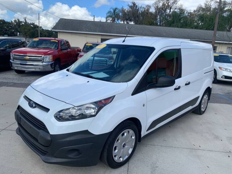 2018 Ford Transit Connect Cargo for sale at Galaxy Auto Service, Inc. in Orlando FL
