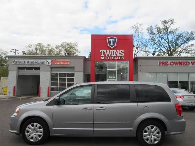2017 Dodge Grand Caravan for sale at Twins Auto Sales Inc in Detroit MI