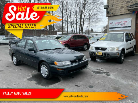 1996 Toyota Corolla for sale at VALLEY AUTO SALES in Methuen MA