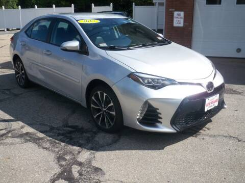 2017 Toyota Corolla for sale at Charlies Auto Village in Pelham NH