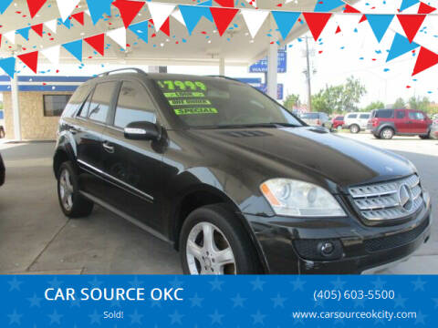 2008 Mercedes-Benz M-Class for sale at CAR SOURCE OKC - CAR ONE in Oklahoma City OK