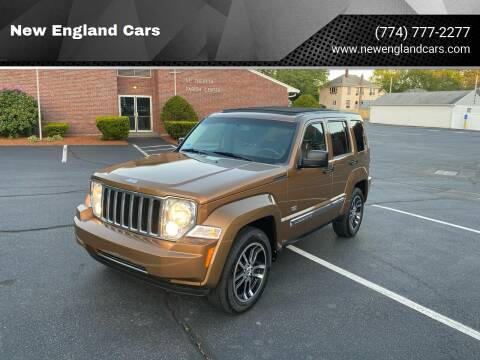 2011 Jeep Liberty for sale at New England Cars in Attleboro MA