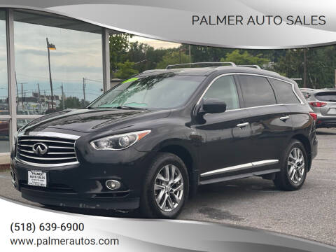2014 Infiniti QX60 for sale at Palmer Auto Sales in Menands NY