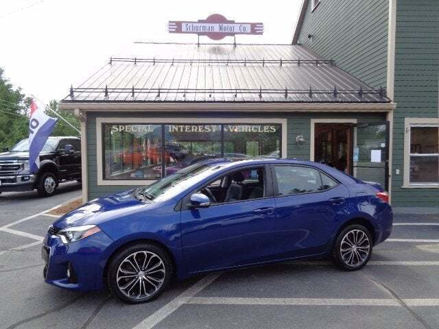 2014 Toyota Corolla for sale at SCHURMAN MOTOR COMPANY in Lancaster NH
