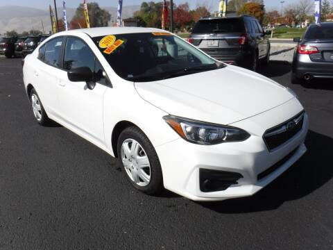 2018 Subaru Impreza for sale at Budget Auto Sales in Carson City NV