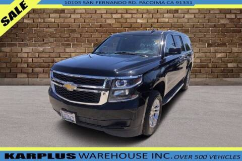 2015 Chevrolet Suburban for sale at Karplus Warehouse in Pacoima CA